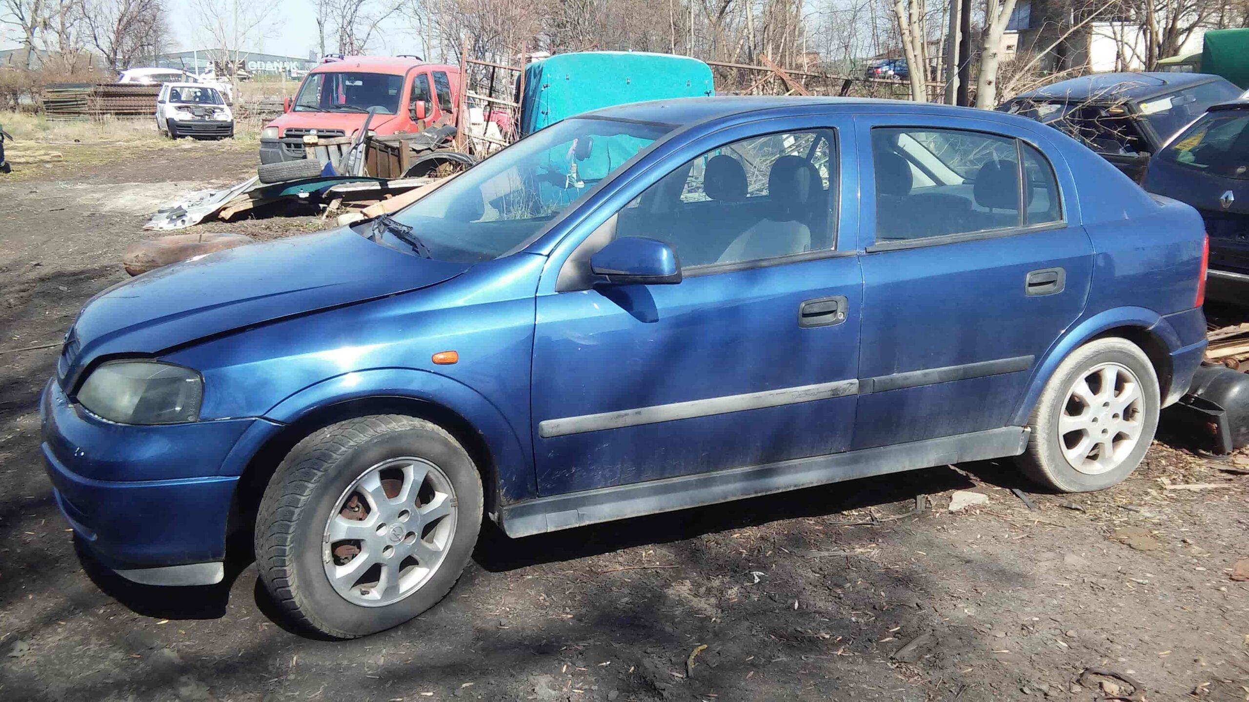 Opel Astra G Hatchback niebieski
